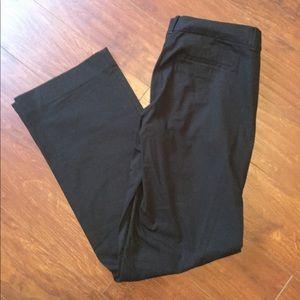 J. Crew Black City Fit Pants
